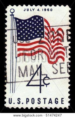 U.s. Flag, July 4, 1960