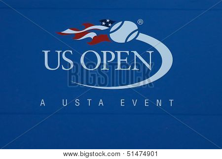 US Open sign at Billie Jean King National Tennis Center