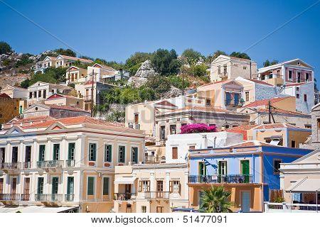 Island Symi (Simi), Dodecanesse, Greece