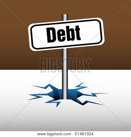 Debt plate