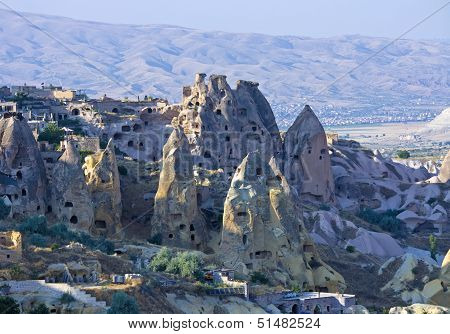 view of cappadocia - turkey