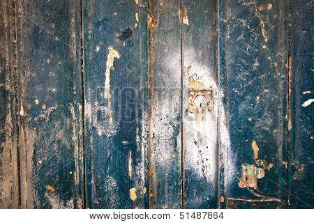 Weathered Old Door