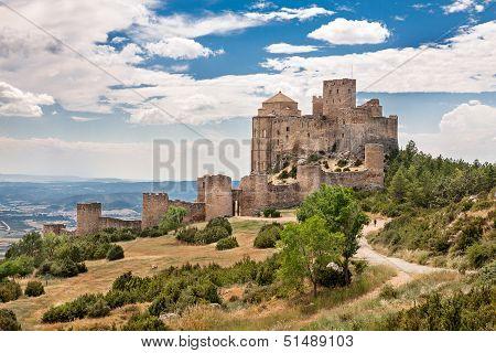 Loarre Castle In Huesca, Aragon, Spain