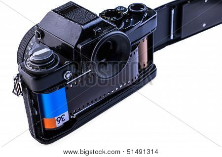 35Mm  Camera With Film