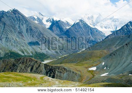 Mountains range in Altai