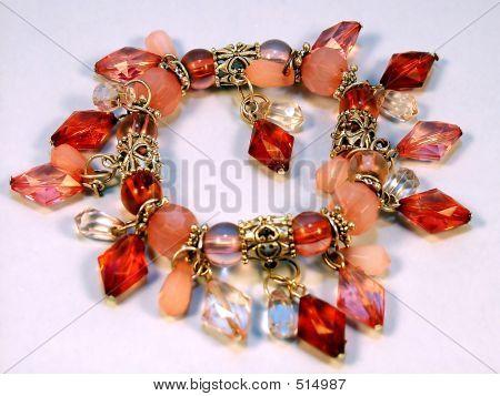 Diamond Shape Red Bracelet