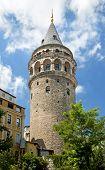 Galata Tower Landmark In Istanbul Turkey poster