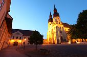 picture of mikulas  - Saint Nicolas church in Trnava Slovakia  - JPG