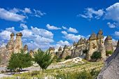 stock photo of goreme  - a view of cappadocia  - JPG