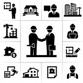 stock photo of construction industry  - Construction project manager - JPG