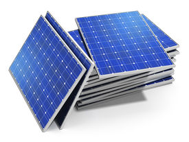 foto of solar battery  - Creative solar power generation technology alternative energy and environment protection ecology business concept - JPG