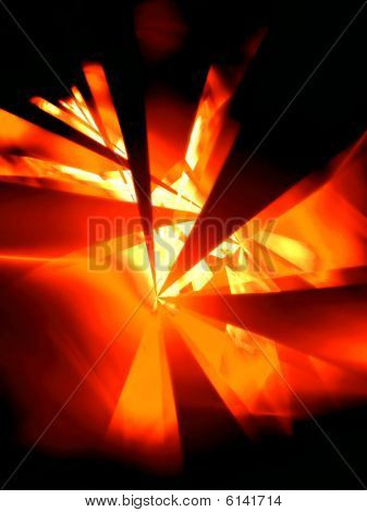 Hot Night - 3D fractal Illustration