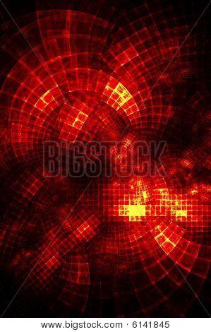 Fiery Grid - Fractal Design