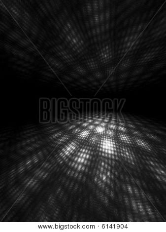 B&W Moire Light Patterns
