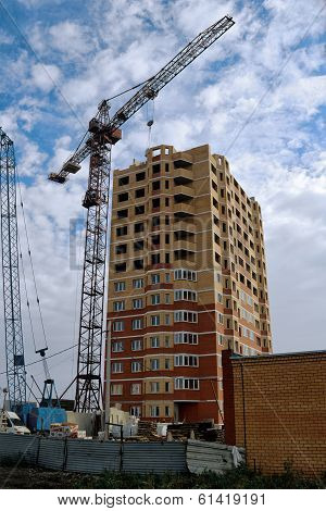 Construction Of High-rise Building.