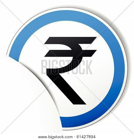 Vector Rupee Icon