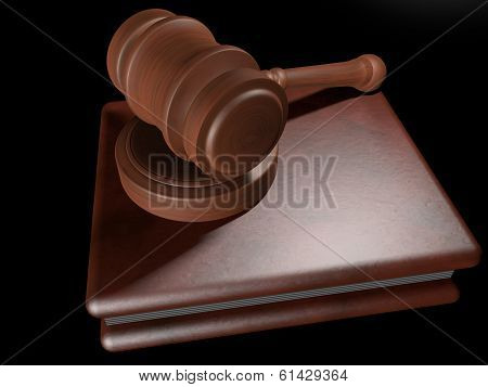 Judge Hammer Over Book