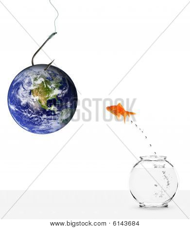 Fishing With Earth As Bait