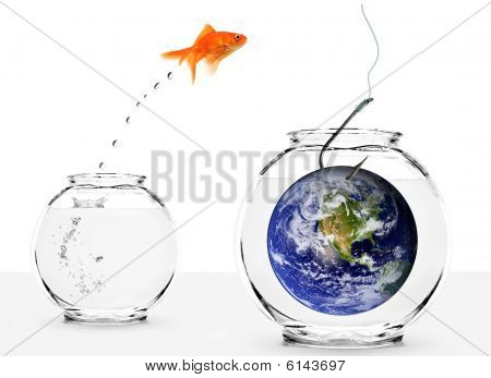 Fishing With Earth As Bait Isolated