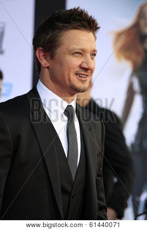 LOS ANGELES - MAR 13:  Jeremy Renner at the