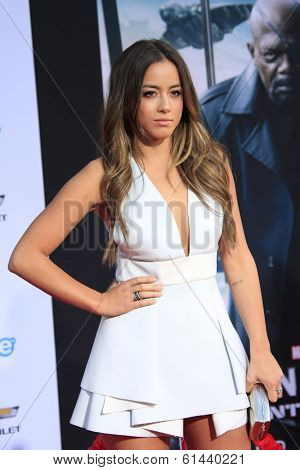 LOS ANGELES - MAR 13:  Chloe Bennet at the
