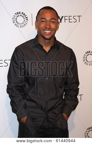 LOS ANGELES - MAR 13:  Percy Daggs, III at the PaleyFEST Vernoica Mars Event at Dolby Theater on March 13, 2014 in Los Angeles, CA