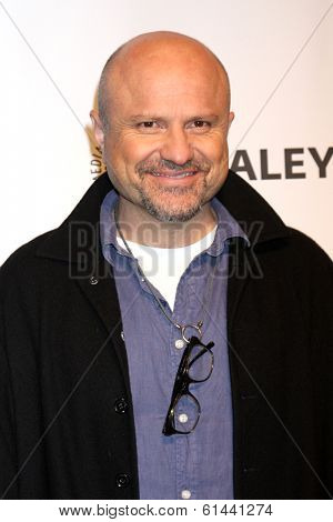 LOS ANGELES - MAR 13:  Enrico Colantoni at the PaleyFEST Vernoica Mars Event at Dolby Theater on March 13, 2014 in Los Angeles, CA