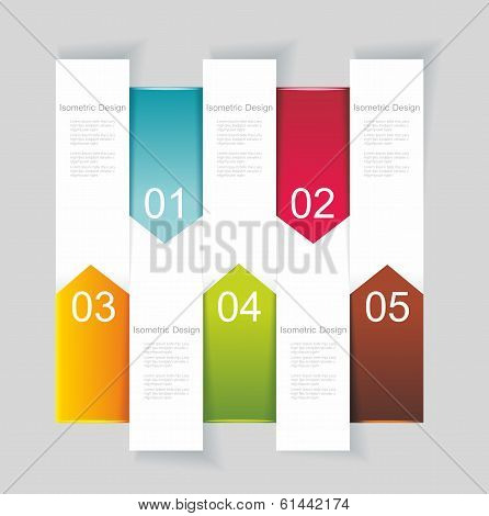 Modern Design Template Vertical Banners.