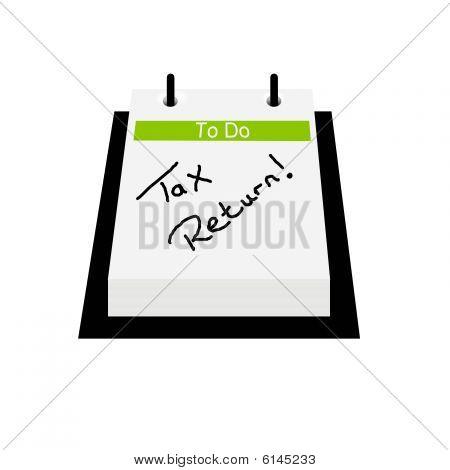 um Steuererklärung Touchpad-