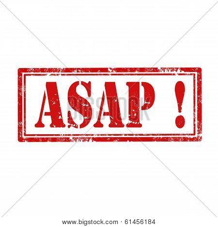 Asap!-stamp