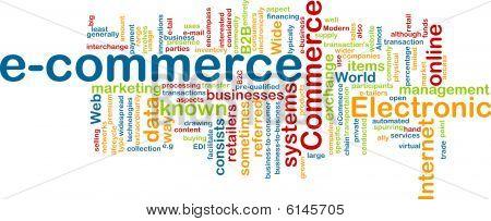 E-commerce Word Cloud