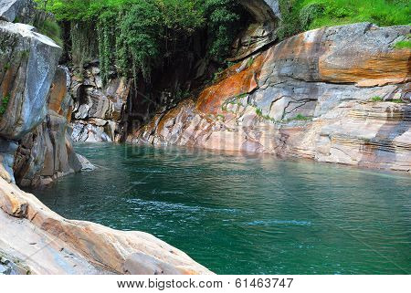 Verzasca Valley,Ticino Canton,Switzerland