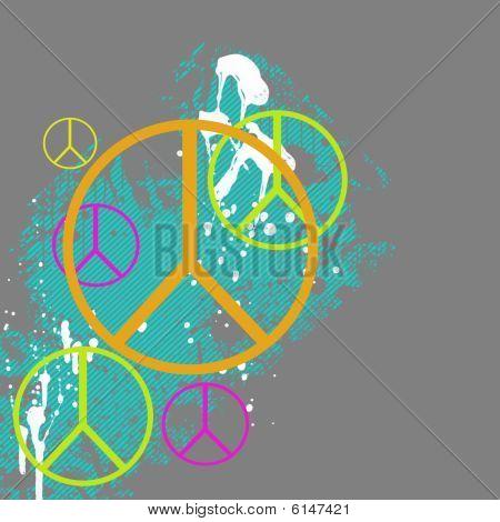 Peace Symbol Graphic
