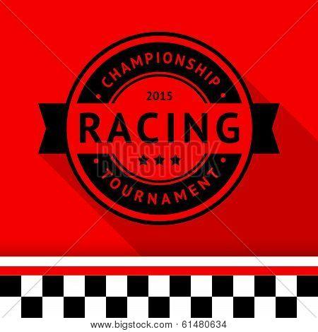 Racing stamp-