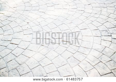 Exterior Brick Footpath Texture Background