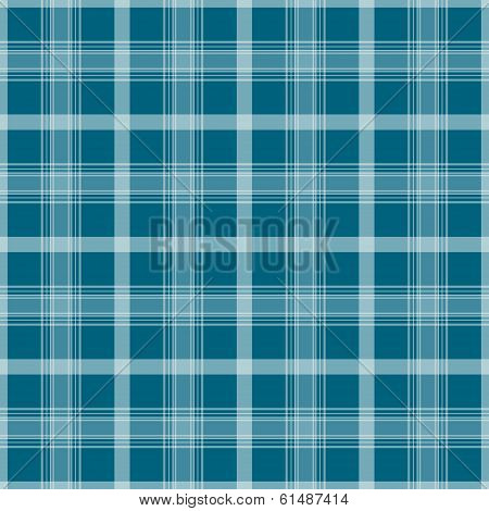 Checkered Seamless Plaid Blue Pattern