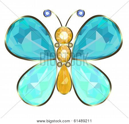 Buterfly brooch