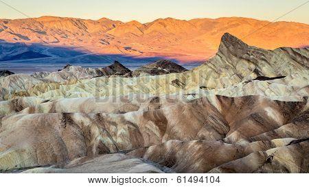 Sunrise in Death Valley Zabriskie Point