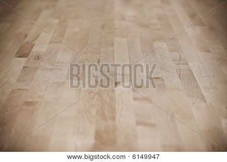 Basketball Court (wood Floor)