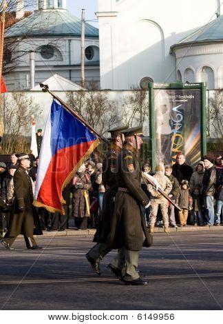 Czech Guard Of Honour
