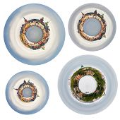 Spherical Panoramas Of Stockholm Cit