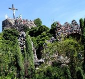 stock photo of golgotha  - Sanctuary of Our Lady in Lichen  - JPG