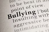 pic of bullying  - Fake Dictionary Dictionary definition of the word Bullying - JPG