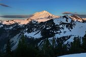 Mt Baker Sunrise