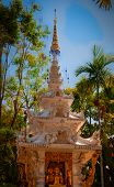stock photo of lingam  - The North of Thailands style of temple - JPG