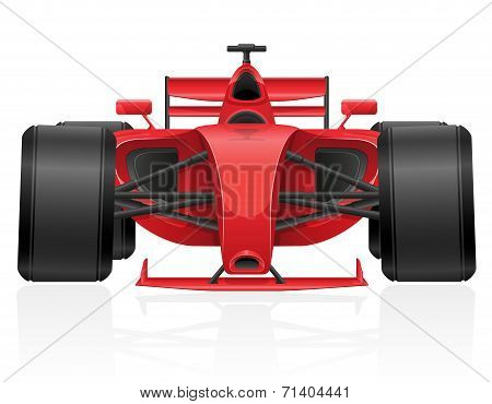 Racing Car Vector Illustration Eps 10