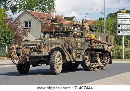 WW2 US halftrack