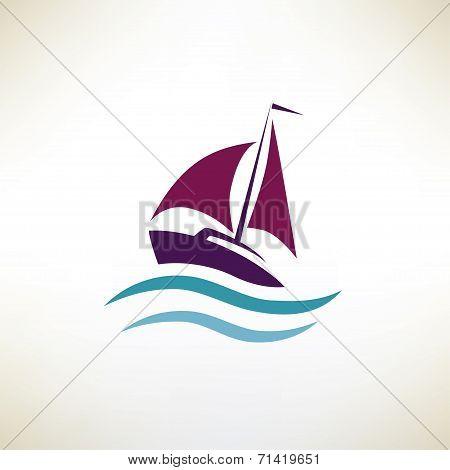 Yacht Symbol, Regatta Concept