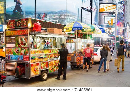 Food Trucks In New York City