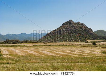 Sardinia. Castle of Acquafredda